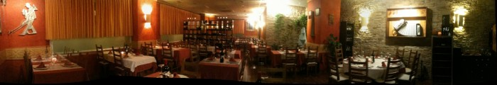 Salon restaurante milonga's Sevilla